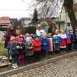 Dnešní koledování dětí z MŠ a dárečky pro domov seniorů